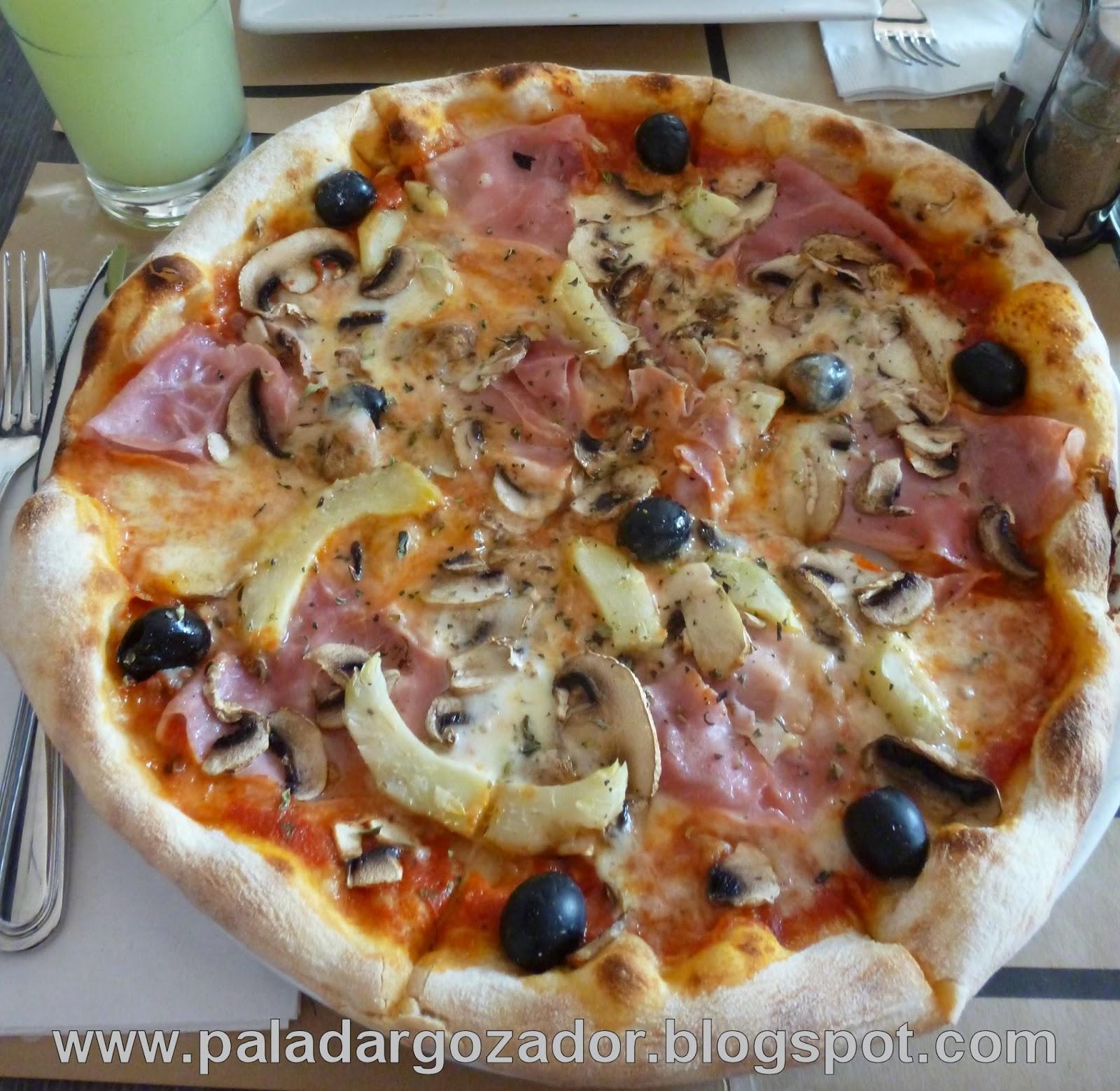 La Fabbrica Egaña Pizza