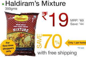 Haldiram's Mixture pack Ebay