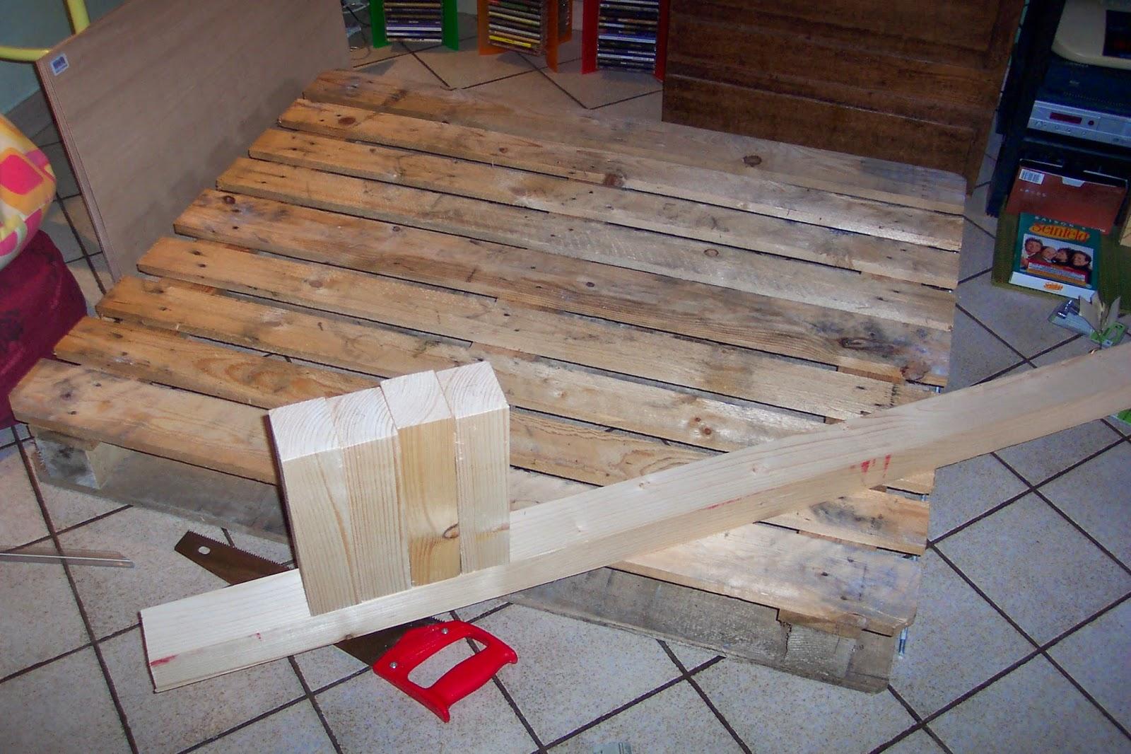 Torpoon home creation table basse en palette 1 - Creation en palette ...