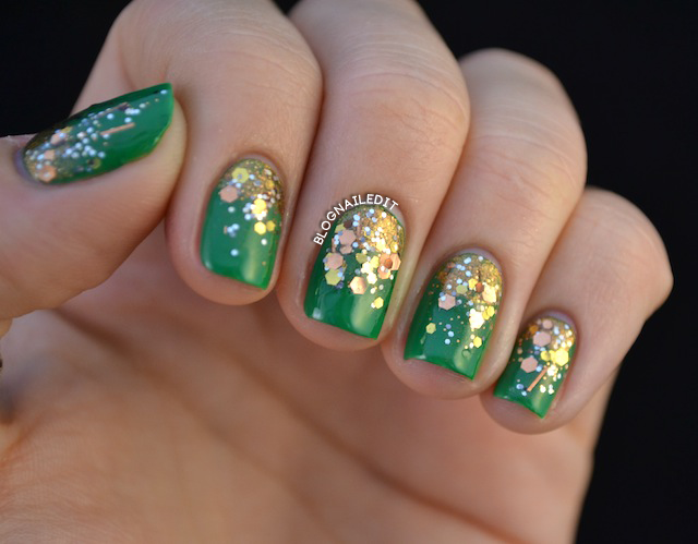 Glitter and Nail Art: Day 7 - Nailed It | The Nail Art Blog