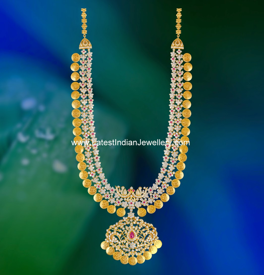 Diamond Kasulaperu Design Latest Indian Jewellery Designs