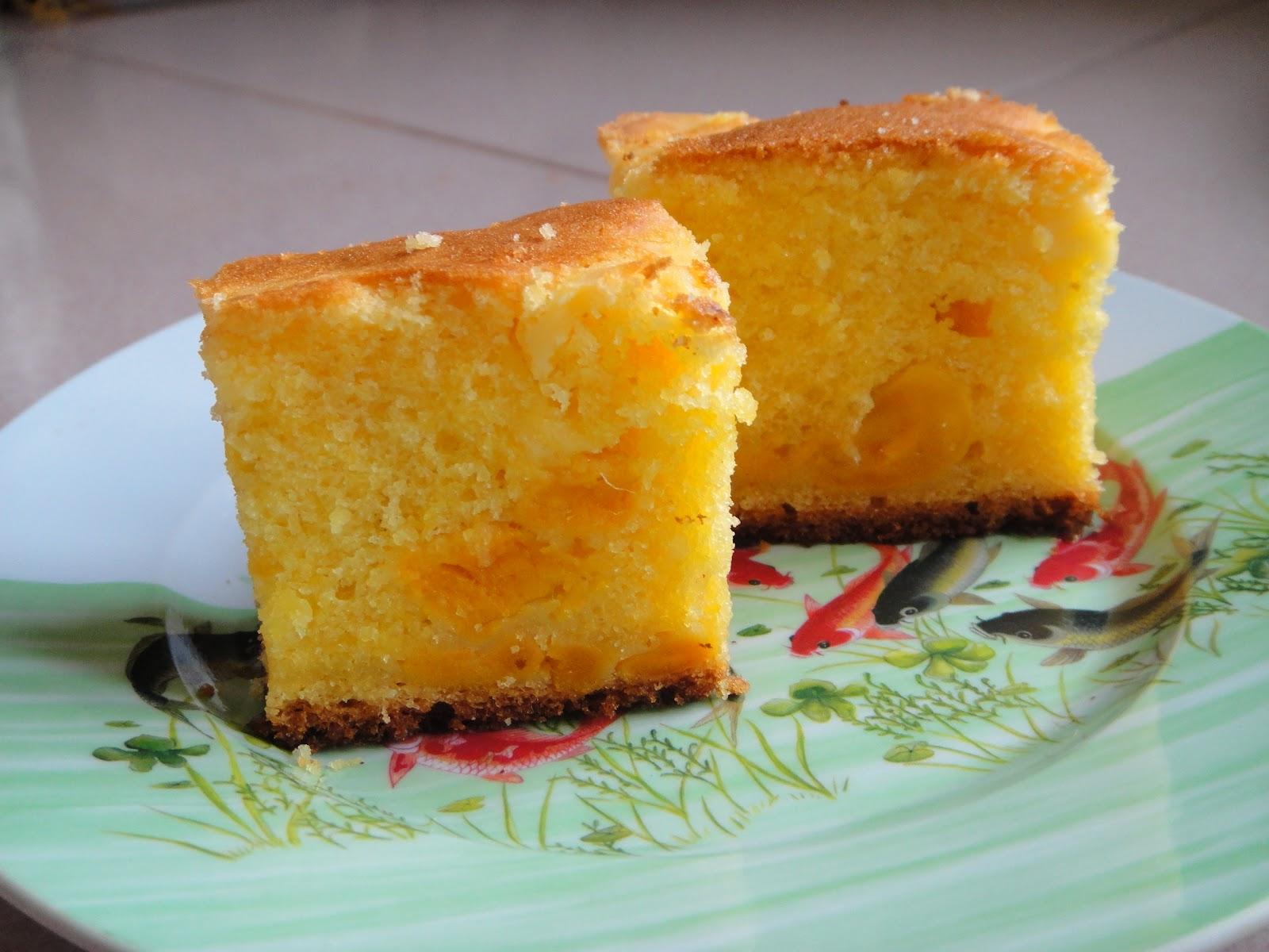 Best Cempedak Butter Cake Recipe