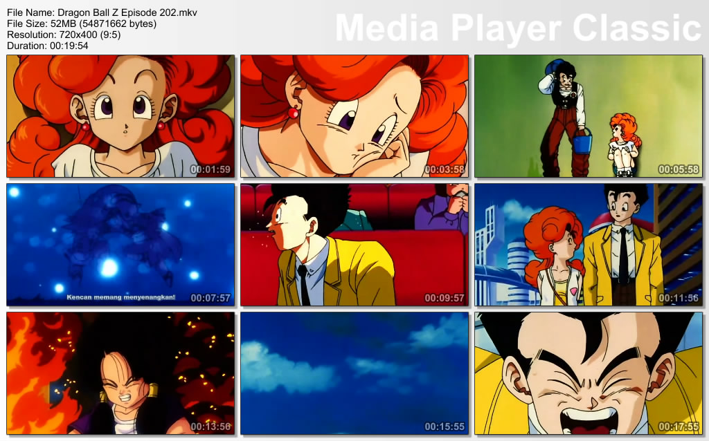Download Film / Anime Dragon Ball Z Majin Buu Saga Episode 202 Bahasa