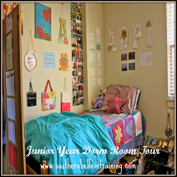 Southern Belle Training Junior Year Dorm Room Tour