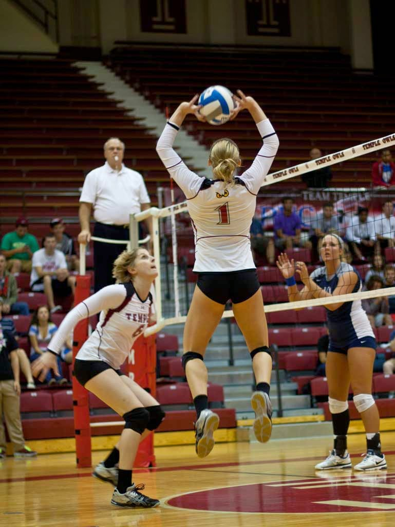 how to play volleyball positions