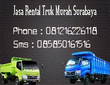 Jasa Rental Truk Mrah Surabaya-Lamongan