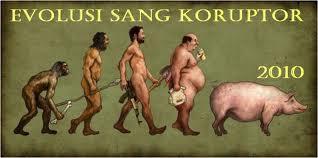 evolusi sang koruptor