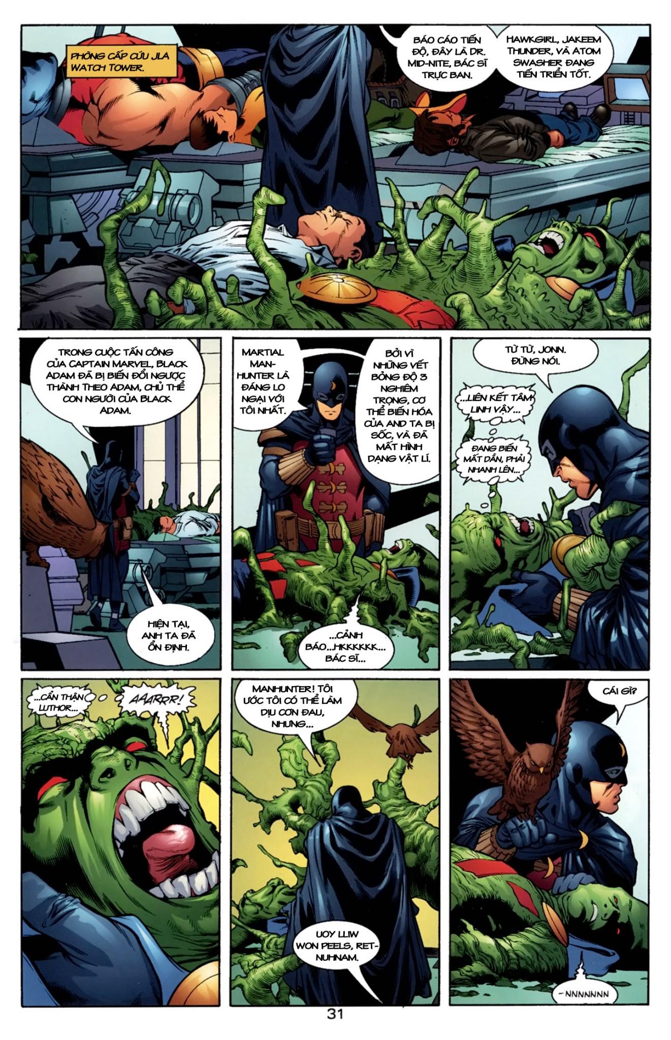JLA JSA: VIRTUE AND VICE chap 2 - Trang 7