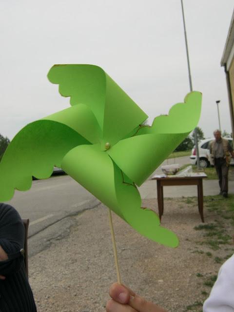 girandola verde