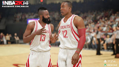 NBA 2K14 Next-Gen James Harden & Dwight Howard