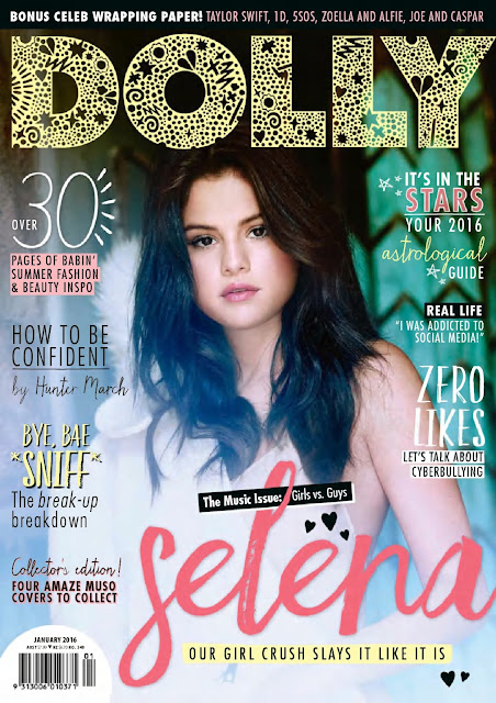Actress, Singer, @ Selena Gomez - Dolly Australia, January 2016