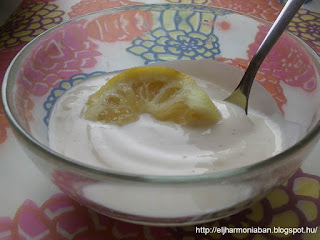 citrom fagylalat, citromos jégkrém, citromos joghurt, citromos édesség, citromos recept