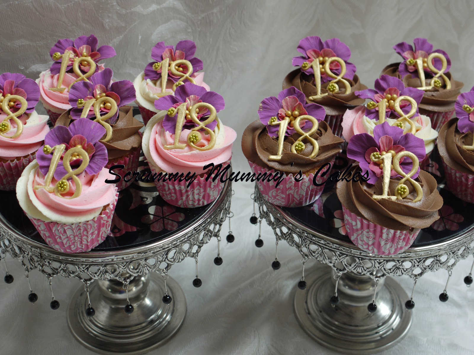 Cupcake Designs For Birthday