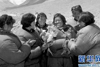 Phantog. Segunda mujer es ascender al Everest