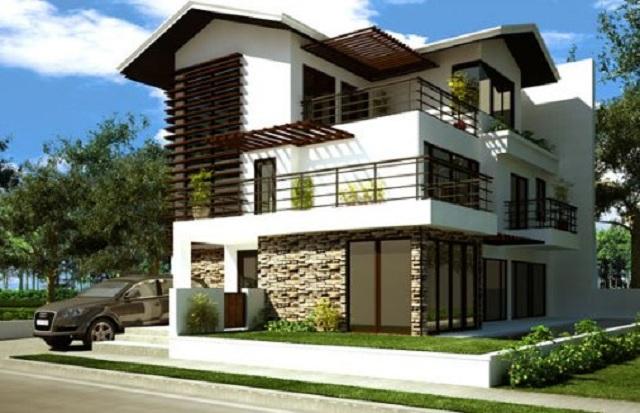 Fachadas de casas de campo fachadas de casas y casas por for Diseno de fachadas minimalistas
