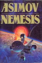 http://www.amazon.com/Nemesis-Isaac-Asimov/dp/B000NXKMRK/ref=sr_1_2_title_1_har?s=books&ie=UTF8&qid=1385335937&sr=1-2&keywords=nemesis+isaac+asimov