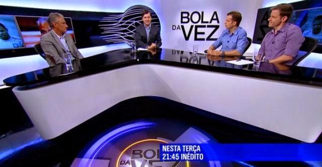 ESPN Brasil estreia novo cenário do  Bola da Vez  - Esporteemidia.com -  Notícias do SporTV b950fae415797