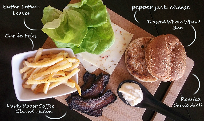 Dark Roast Bacon Burger Ingredients #ChooseSmart #cbias #shop