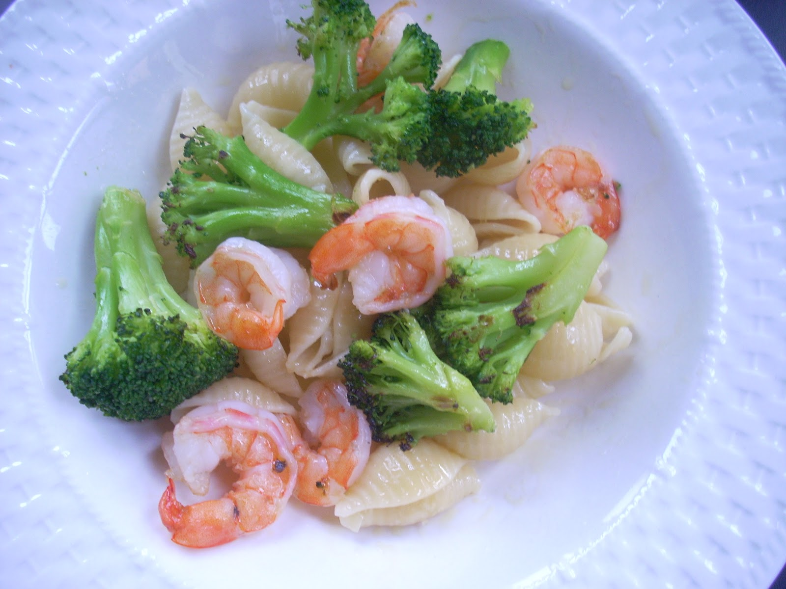 Tip Top Shape Pasta With Shrimp And Broccoli