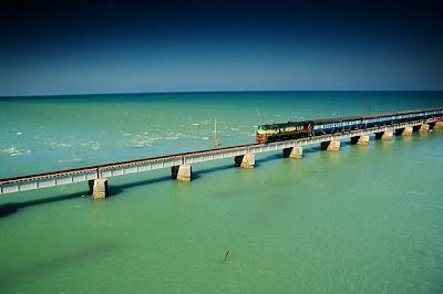 pamban bridge travel