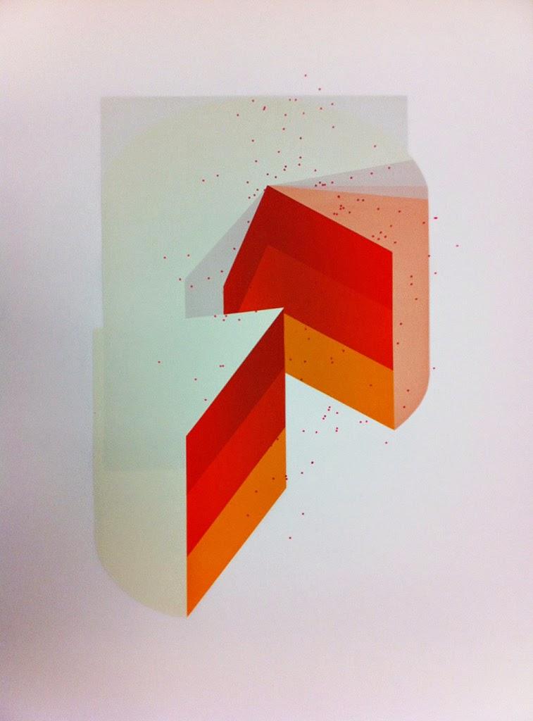 screen-printing, technique, color, gradient, cake