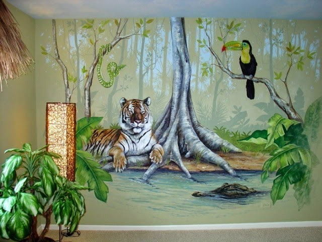 Mural wall paint ideas for Best paint for a wall mural