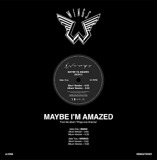 Paul McCartney Reissues Radio-Only Promo of 'Maybe I'm Amazed' (Live) as a Ltd. Edition 12 Inch for Record Store Day