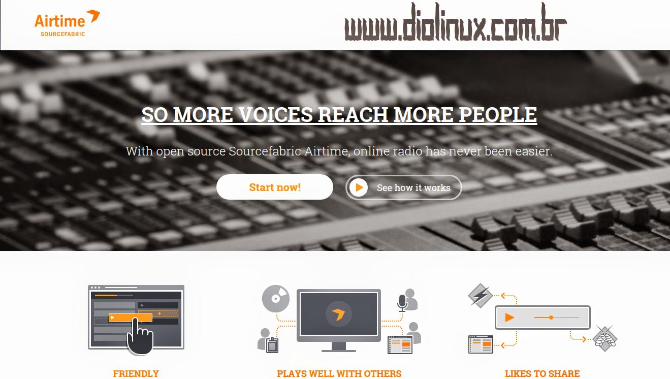 Crie sua própria radio online Grátis