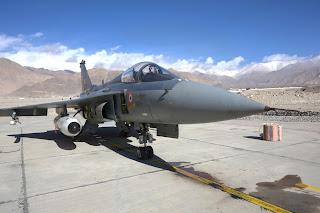 Indian Light Combat Aircraft, LCA Tejas. Winter Trials at Leh 2012