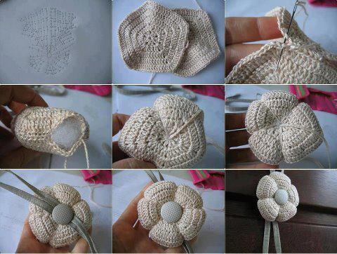 Deartebea. De todo...  Esos divinos adornos tejidos al crochet! ab7bafba2c6