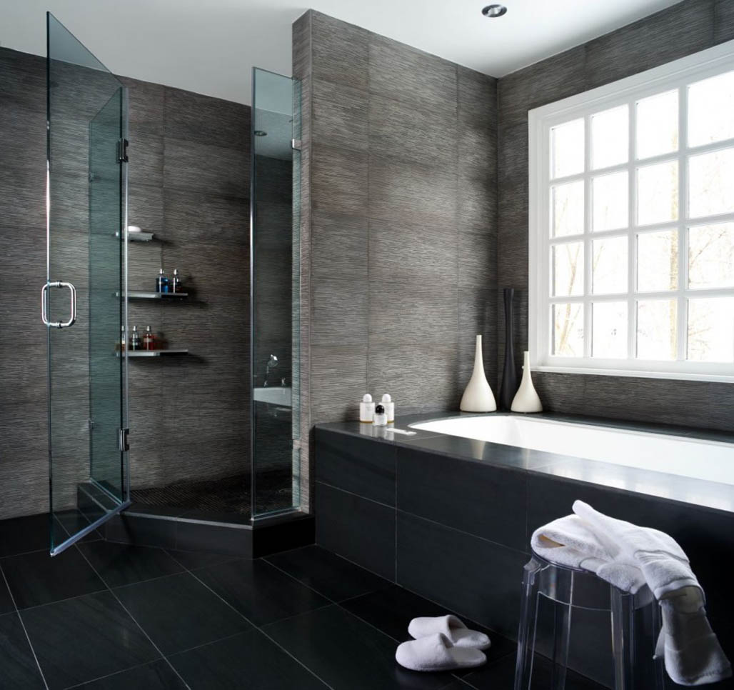 Nyc apartment bathroom: modern bathroom interior design of ...
