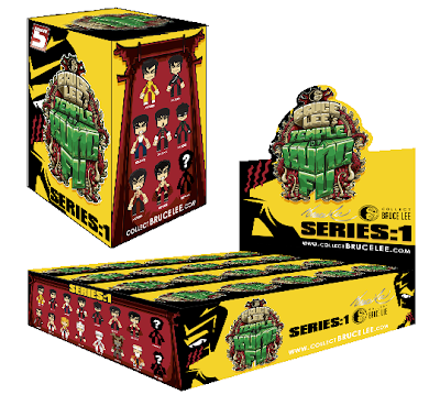 Bruce Lee's Temple of Kung Fu Blind Box Series Packaging by MAD
