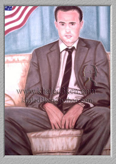 Portrait Drawing Soccer Football Khaled3Ken Gallery AMERICA LONDON DONOVAN