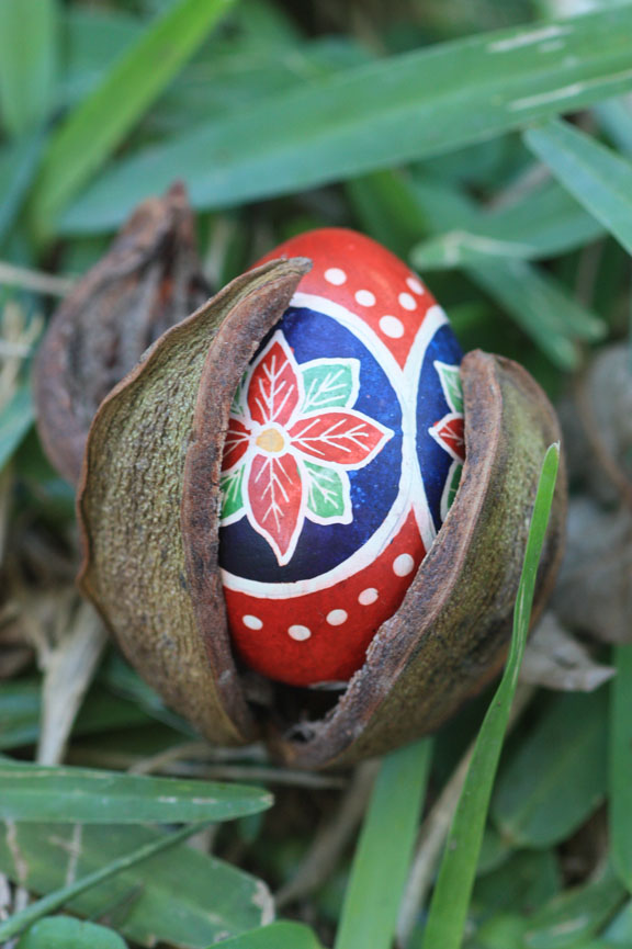Quail Traditional Pysanky Eggshells
