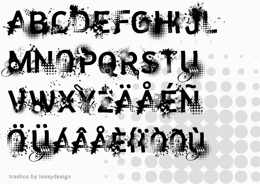 graffiti font photoshop