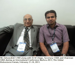 Zahoorullah S MD and Dr. B S BAJAJ, Secretary FABA and Chairman AIBA