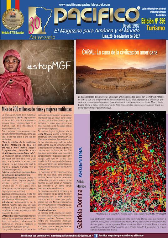 Revista Pacifico Nº 356 Turismo