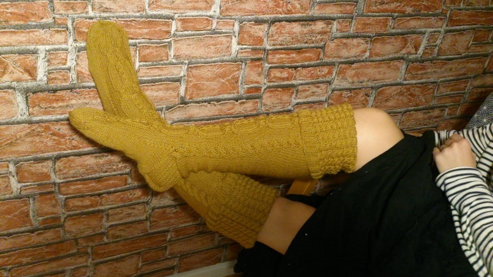 Elämä on pehmeämpää villasukat jalassa.