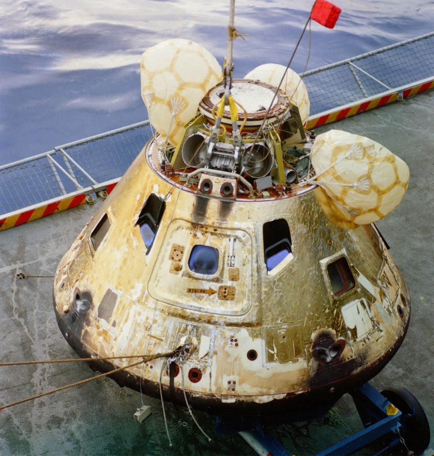 Módulo comando Apolo 8