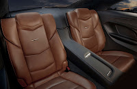 Cadillac ELR back interior