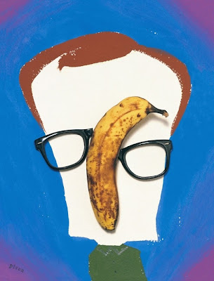 Hanoch Piven art of Woody Allen