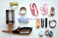 Materiais para porta-lápis reciclado personalizado