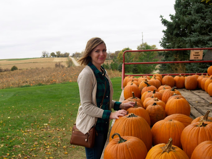 Flannel, booties and pumpkins — oh my!