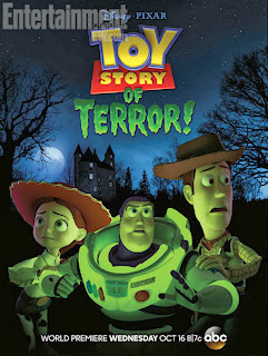 Pixar, Toy Story of Terror, Halloween, Woody, Buzz Lightyear, Jessie, tráiler, Making Of, cine, estrenos, dibujos animados