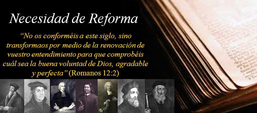 Necesidad de Reforma