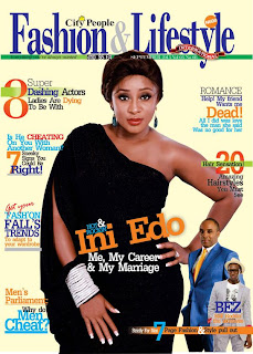 Ini Edo On The Cover Of Fashion & Lifestyle Magazine