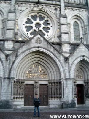 Entrada de la Catedral de Cork