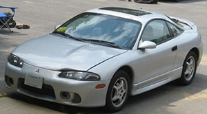 Mitsubishi Eclipse - mobil maut