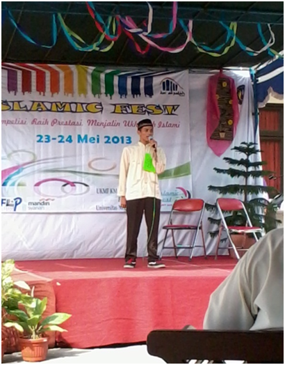 ISLAMIC SPEECH CONTEST : UKM AL-FATIH UNY