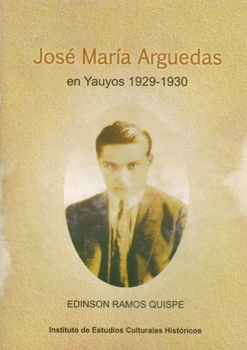 José María Arguedas en su juventud en Yauyos